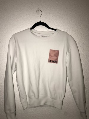 Champion Crewneck Sweater white-pink