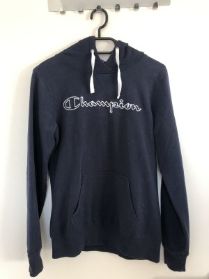 Champion Hooded Sweatshirt dark blue
