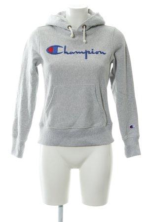 Champion Kapuzensweatshirt Schriftzug gestickt sportlicher Stil