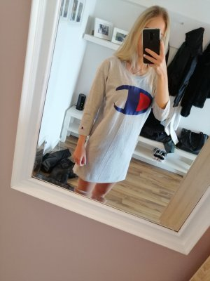 Champion Longsleeve Dress light grey