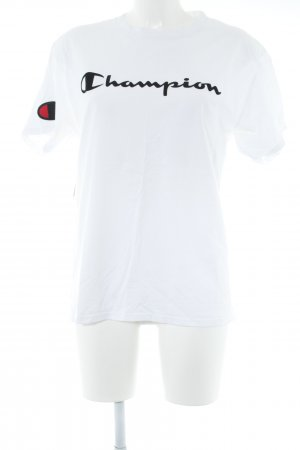 Champion Oversized Shirt natural white-black casual look