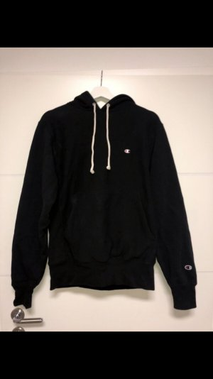 Champion Oversized Sweater black-white