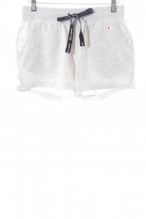 Champion Sport Shorts light grey flecked casual look
