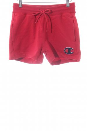Champion Sportshorts rot Casual-Look