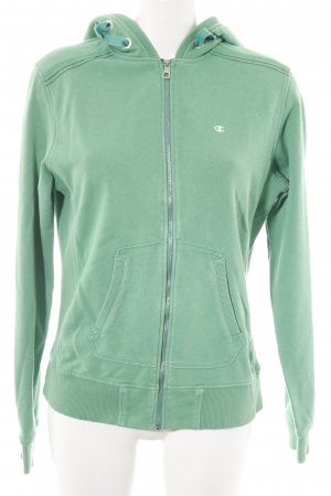 Champion Sweat Jacket green athletic style