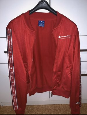 Champion Sports Jacket red-dark red