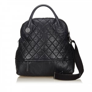 Chanel 2 Way Leather Handbag