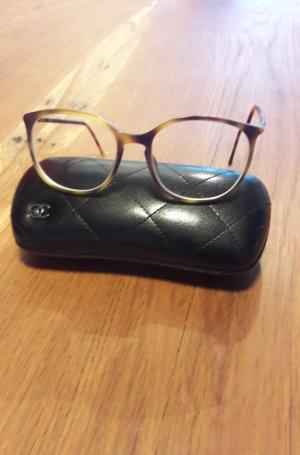 Chanel Occhiale stile retro marrone Materiale sintetico