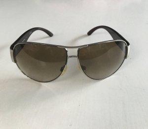 Chanel 4128 Piloten Stil Sonnenbrille braun Logo  oversize
