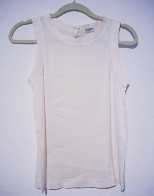 Chanel Top in seta bianco sporco Seta