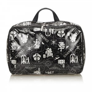 Chanel Airline Leather Travel Bag