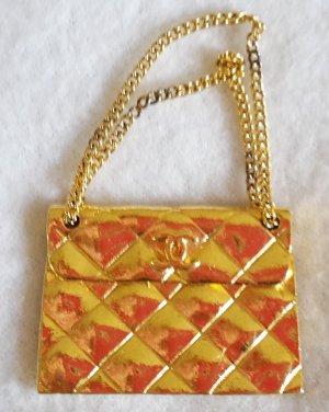 Chanel Anhänger goldfarben