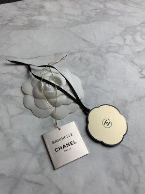 Chanel Porte-clés doré-noir
