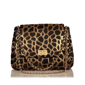 Chanel Bolsa de hombro marrón Cuero