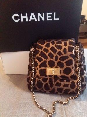 Chanel Animal Print Pony Hair Reissue Flap Bag