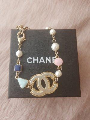 Chanel Pulsera multicolor metal