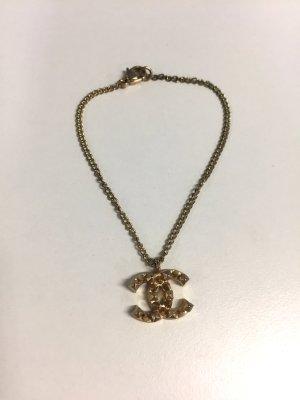 Chanel Pulsera color oro metal