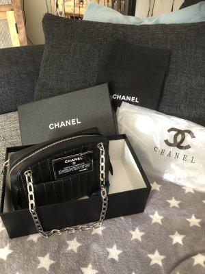 Chanel Handbag black-silver-colored