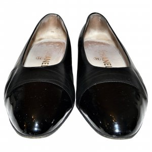 Chanel Ballerina Mary Jane nero Pelle