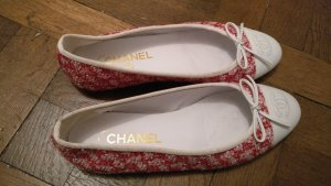 Chanel Bailarinas magenta