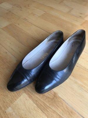 Chanel Ballerinas, Gr. 37, schwarz