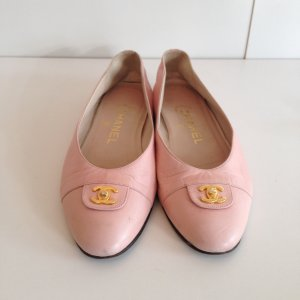 Chanel Ballerinas  in Zart Apricot/36
