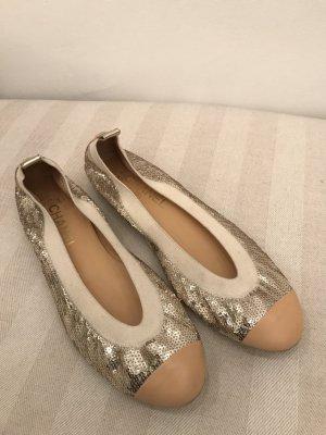 Chanel ballerinas mit Pailletten