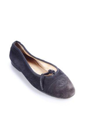 Chanel Ballerinas schwarz Casual-Look