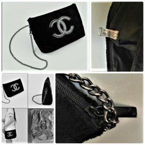 Chanel Beauty Samt Kette Umhängetasche ,Clutch VIP-Geschenk Gr29 x 18 x 6cm Neu