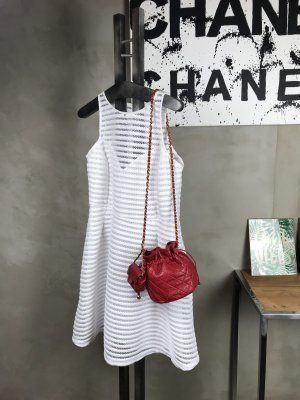Chanel Borsa a spalla multicolore Pelle