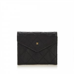 Chanel Bicolore Matelasse Lambskin Coin Pouch