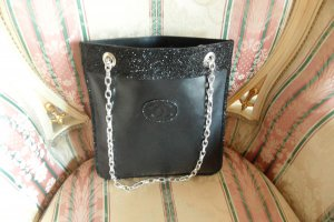Chanel Black Quilted Lambskin Flat Chain Shopper Tote Bag