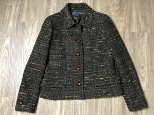 Chanel Blazer brun laine