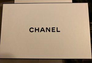 Chanel Bolsa de la compra blanco-negro