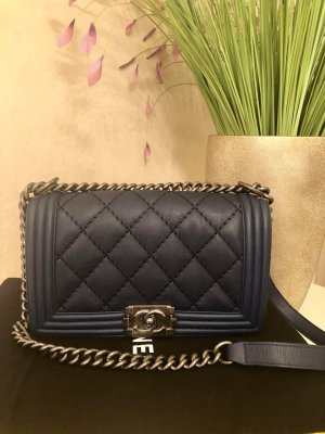 Chanel Borsetta blu scuro
