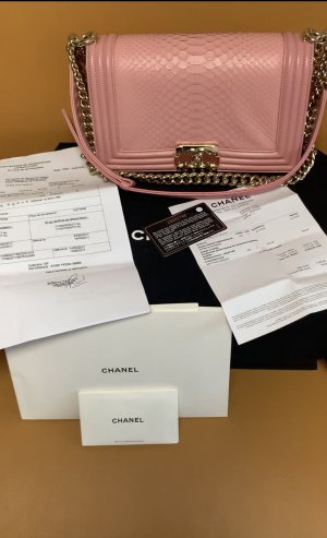 Chanel Sac Baril rose