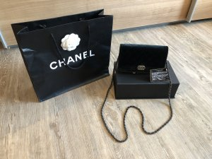 Chanel Gekruiste tas zwart