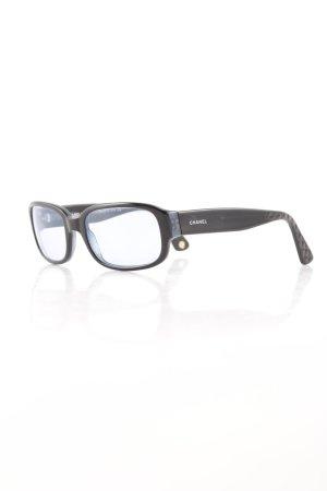 Chanel Gafas negro-azul pálido estilo clásico
