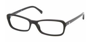 CHANEL BRILLE Schwarz Silber 3191 c501 54/16 135 Glasses Black + Box