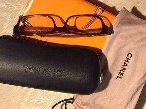 CHANEL - Brillenfassung (Lesebrille) in rostbraun, wie neu