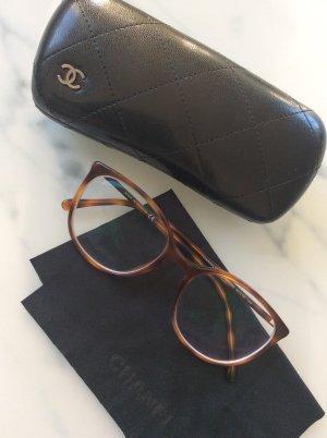 Chanel Brillengestell in braun Havanna