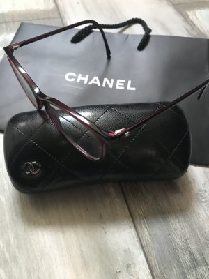 Chanel Brillengestell Modell 3281 tolles Dunkelrot 320€