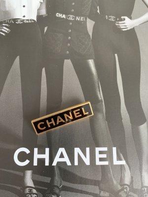 Chanel Broche zwart-goud