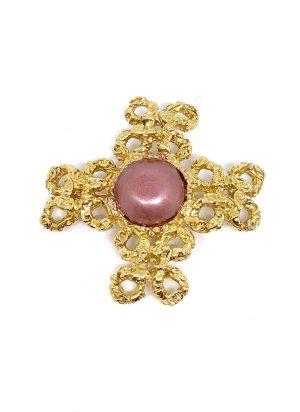Chanel Broche doré-or rose