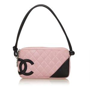 Chanel Sac à main rosé cuir