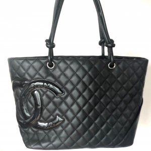 Chanel Borsa shopper nero