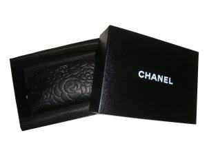 Chanel Clutch zwart-lichtgrijs