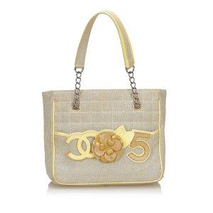 Chanel Camellia CC No 5 Tote Bag