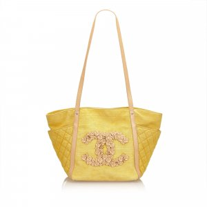 Chanel Borsa larga giallo