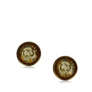 Chanel Pendiente color oro metal